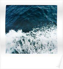 Ocean Polaroid Poster