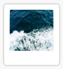 Ocean Polaroid Sticker