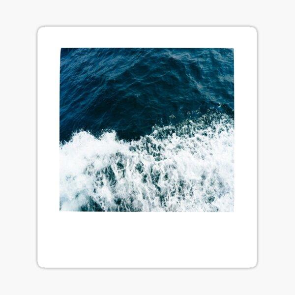 Ocean Polaroid Sticker