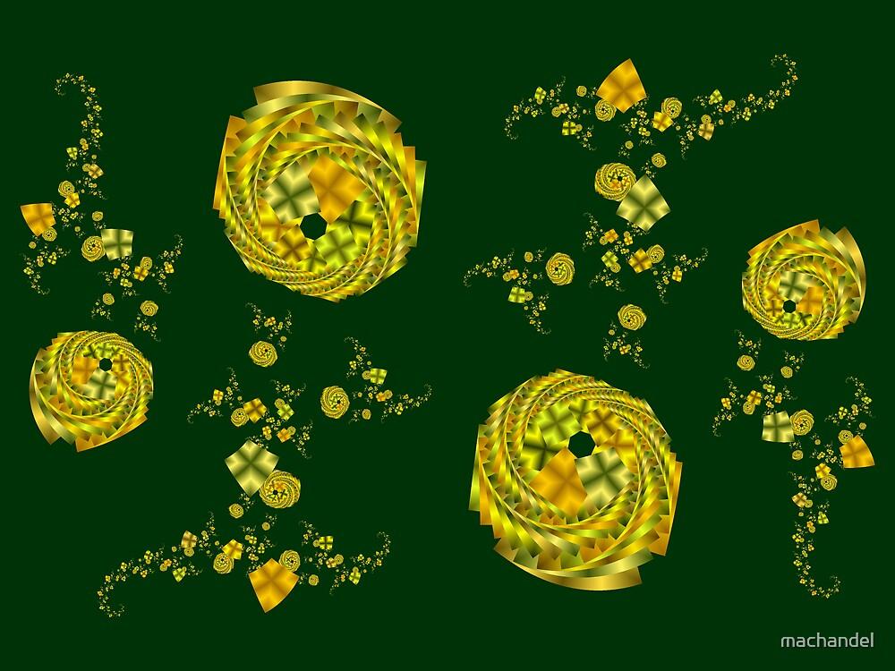 golden roses by machandel