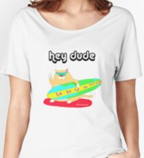 hey dude Women's Relaxed Fit T-Shirt