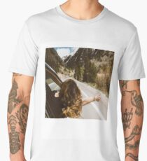 Road Trip Polaroid Men's Premium T-Shirt