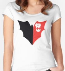 Toothless' Tail Women's Fitted Scoop T-Shirt