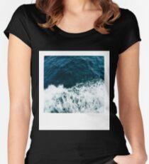 Ocean Polaroid Women's Fitted Scoop T-Shirt