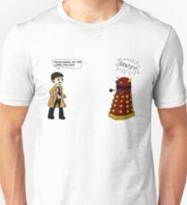 Castiel meets a Dalek T-Shirt