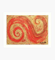 Spirale - Spiral Impression artistique