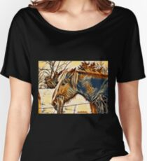 Horse Profile Women's Relaxed Fit T-Shirt