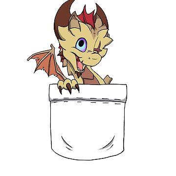 Kratiir - Pocket Dragon by BlazeTFD