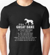 It Is A Great Dane Unisex T-Shirt
