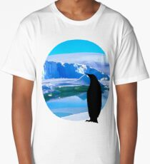 Lonely penguin Long T-Shirt