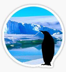 Lonely penguin Sticker