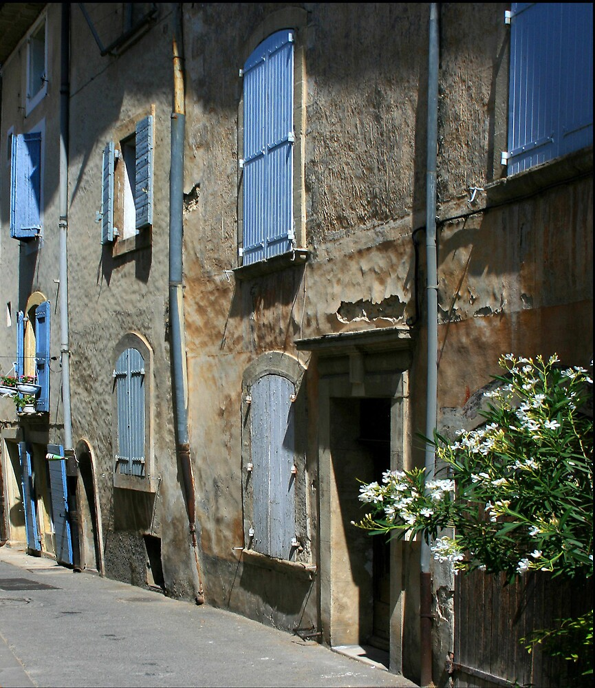 Blue shutters (2) by William Mason