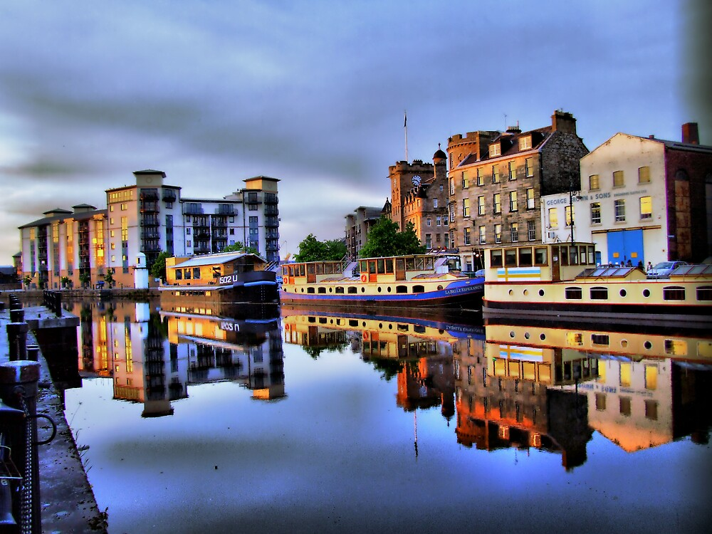 the water of Leith by davey lennox