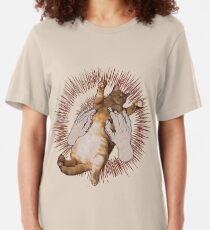 Godspeed You! Cute Cats Slim Fit T-Shirt