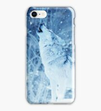 Lonely Wolf in the ice Phone Cover iPhone Case/Skin