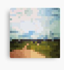 Digital Landscape #6 Canvas Print
