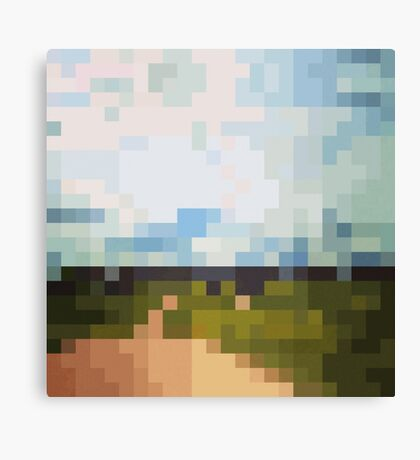 Digital Landscape #6 Canvas Print