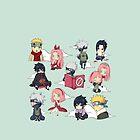 Team 7 Naruto by PizzaStevie