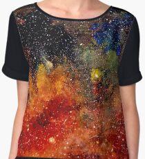 Nebula Inferno Chiffon Top