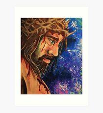 Jesus Crucifixion   Art Print