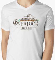 Overlook Hotel - The Shining Colour Winter Men's V-Neck T-Shirt