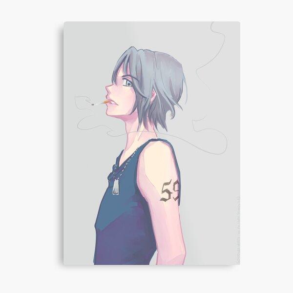 Gokudera Hayato - KHR! Metal Print