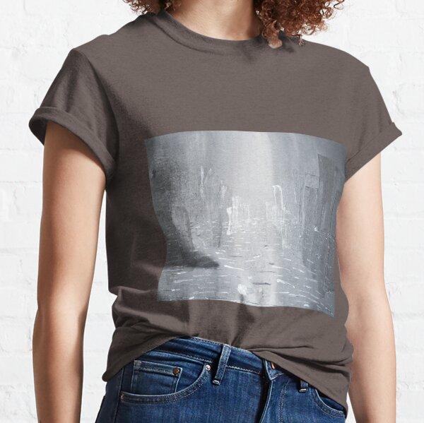 City Melting in the Rain Classic T-Shirt