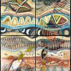 Tropical Fusions (Panels x 4) by Kerryn Madsen-Pietsch