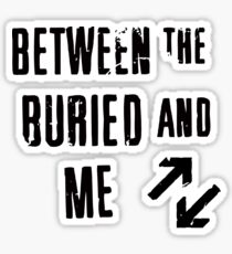 Between the Buried and Me Design Sticker