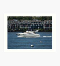 Yachting Art Print