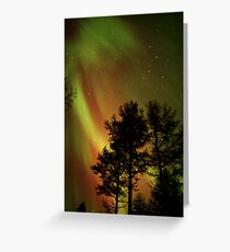 Aurora Borealis - The Northern Lights Greeting Card