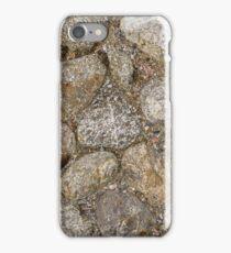 Cobblestone construction iPhone Case/Skin