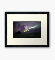Iceland Aurora Framed Print