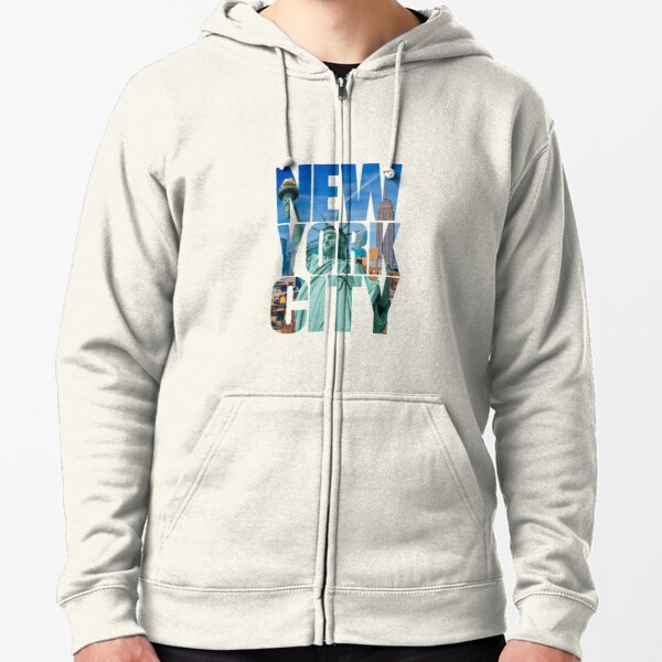 New York City Zipped Hoodie