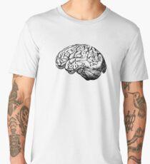 Brain Anatomy Men's Premium T-Shirt