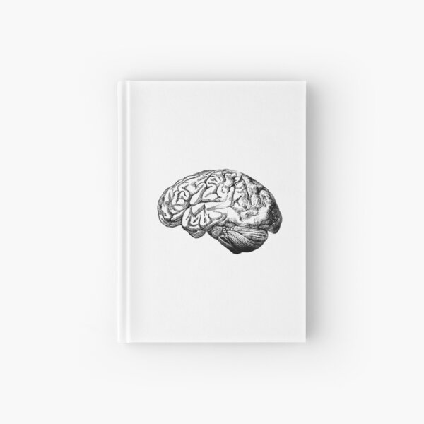 Brain Anatomy Hardcover Journal