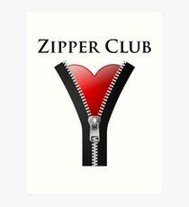 Zipper Club Art Print