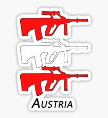 Austria - AUG Sticker