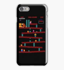 Old School Mario & Donkey Kong iPhone Case/Skin