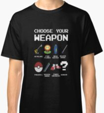 Chose Your Weapon - All Nintendo Classic T-Shirt