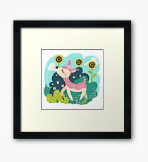 Shiny Spring Framed Print