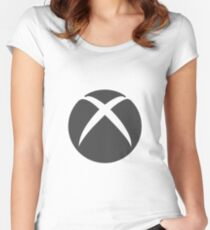 Xbox One Logo  Women's Fitted Scoop T-Shirt
