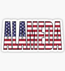 Alameda Sticker