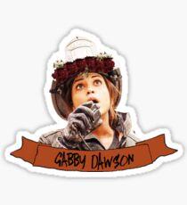Gabby Dawson - flower crown Chicago Fire Sticker