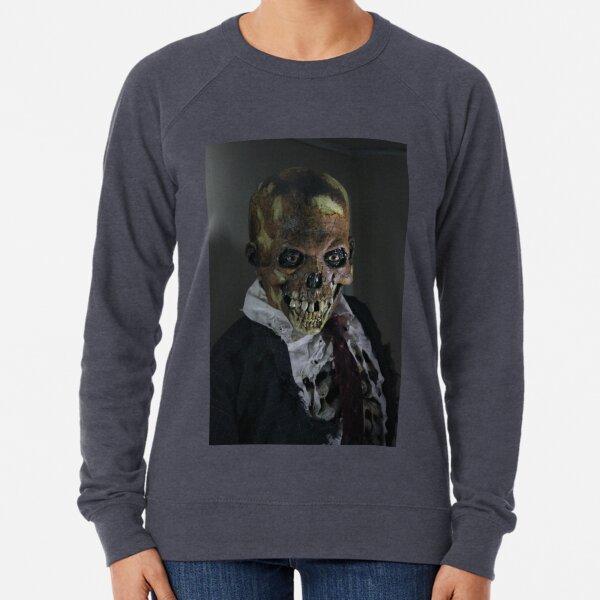 Grinning skull Lightweight Sweatshirt