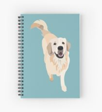 Golden Retriever Doggo Spiral Notebook