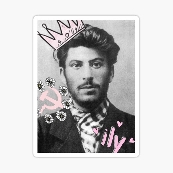 Young Stalin Sticker
