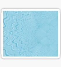 Light blue background Sticker