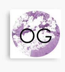 OG Canvas Print
