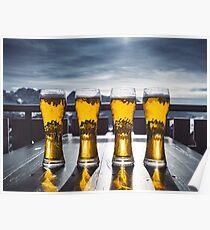 Beer Glasses  Poster